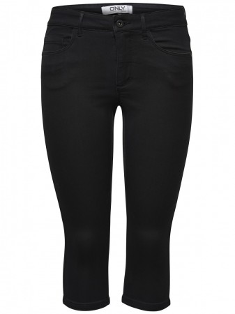 Only Damen Bermuda onlROYAL - Skinny Fit - Black