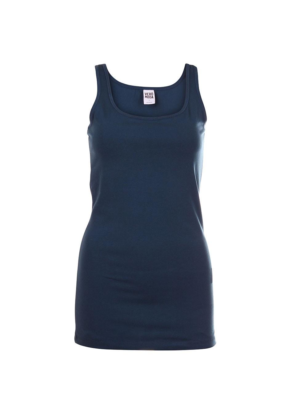 Vero Moda Damen Top 10083893 MAXI MY LONG TANK TOP COLOR