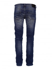 Cross Herren Jeans Toby - Skinny Fit - Blue Used