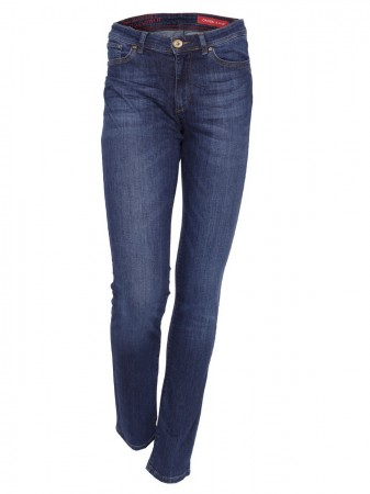 Cross Damen Jeans Anya - Slim Fit - Dark Used
