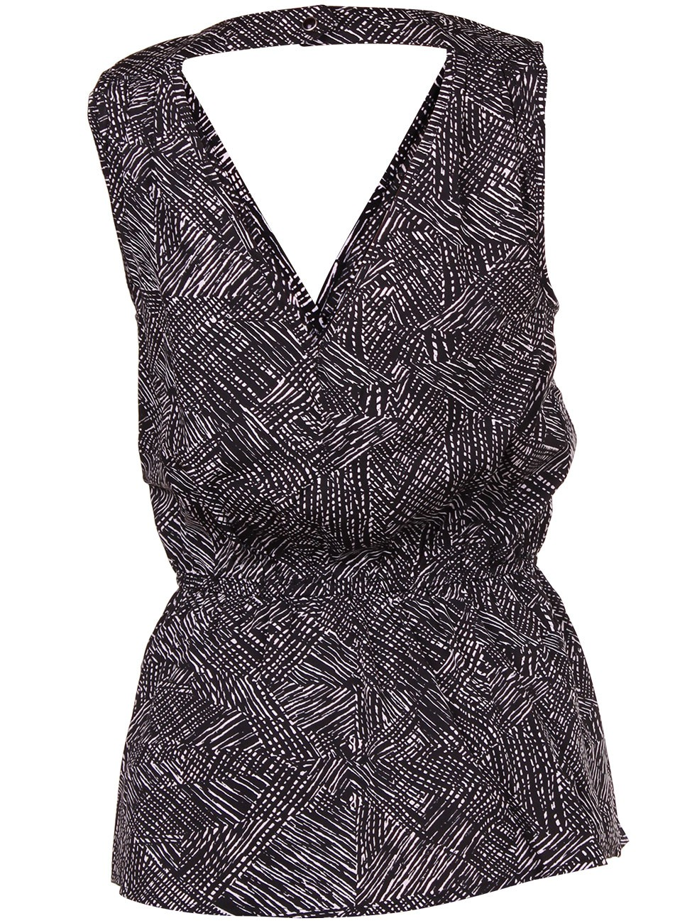 Only Damen Top onlSHELLIE PRINT