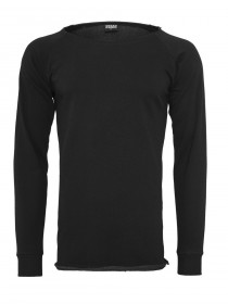 Urban Classics Herren Long Open Edge Terry Crewneck