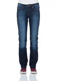 Cross Damen Jeans Rose - Regular Fit - Ocean Blue Used