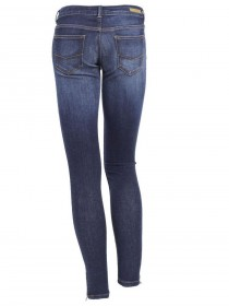 Bild 2 - Cross 7/8 Damen Jeans Giselle - Skinny Fit - Ocean Blue Used