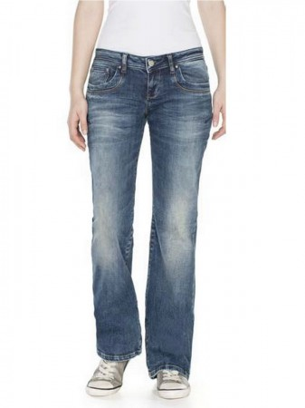LTB Damen Jeans Valerie - Bootcut - Roswell Wash