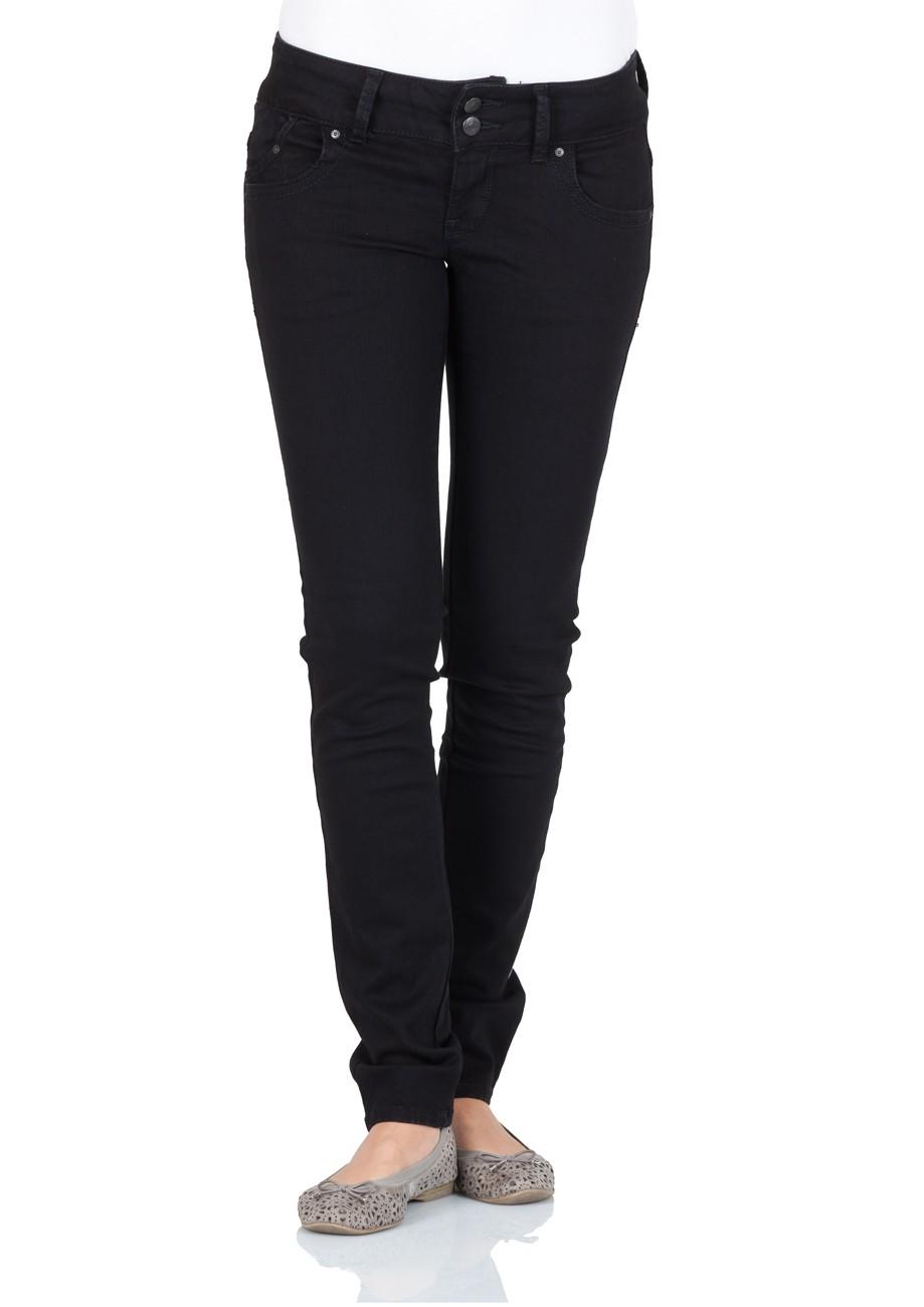ltb damen jeans molly slim fit black to black ebay. Black Bedroom Furniture Sets. Home Design Ideas
