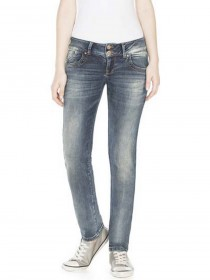 Bild 1 - LTB Damen Jeans Molly - Slim Fit - Hermina Undamaged