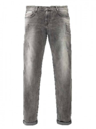 LTB Herren Jeans Justin X - Tapered Fit - Wolf Grey Wash