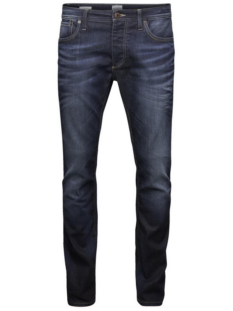 jack jones herren jeans jjclark regular fit blue. Black Bedroom Furniture Sets. Home Design Ideas