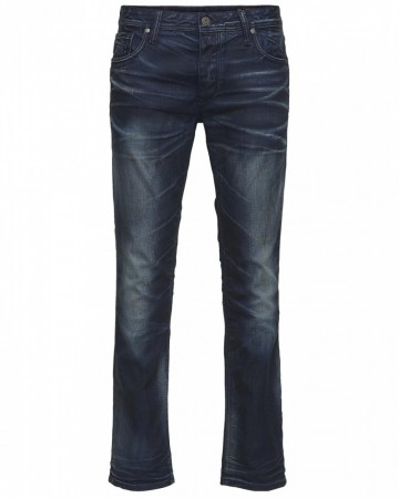 Jack & Jones Herren Jeans JJTIM - Slim Fit -Blue Denim