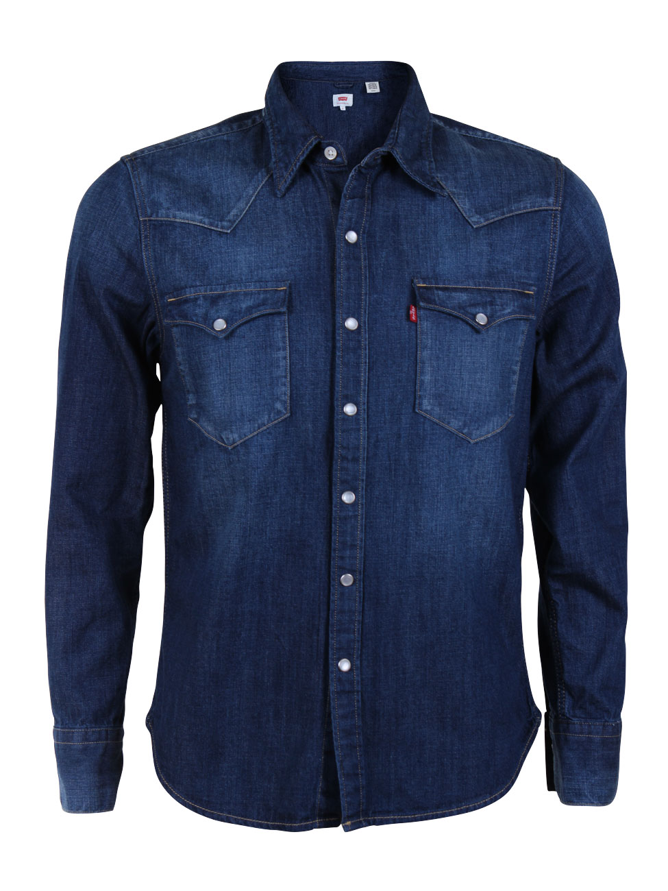 levi 39 s herren jeanshemd 65816 barstow western shirt ebay. Black Bedroom Furniture Sets. Home Design Ideas
