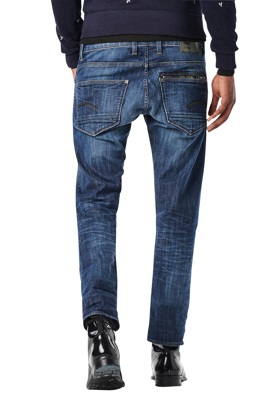 G-Star Jeans Attacc Straight Herren Jeans - Dark Aged