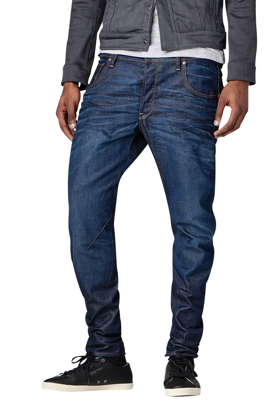 g star jeans arc 3d slim herren jeans dark aged kaufen. Black Bedroom Furniture Sets. Home Design Ideas