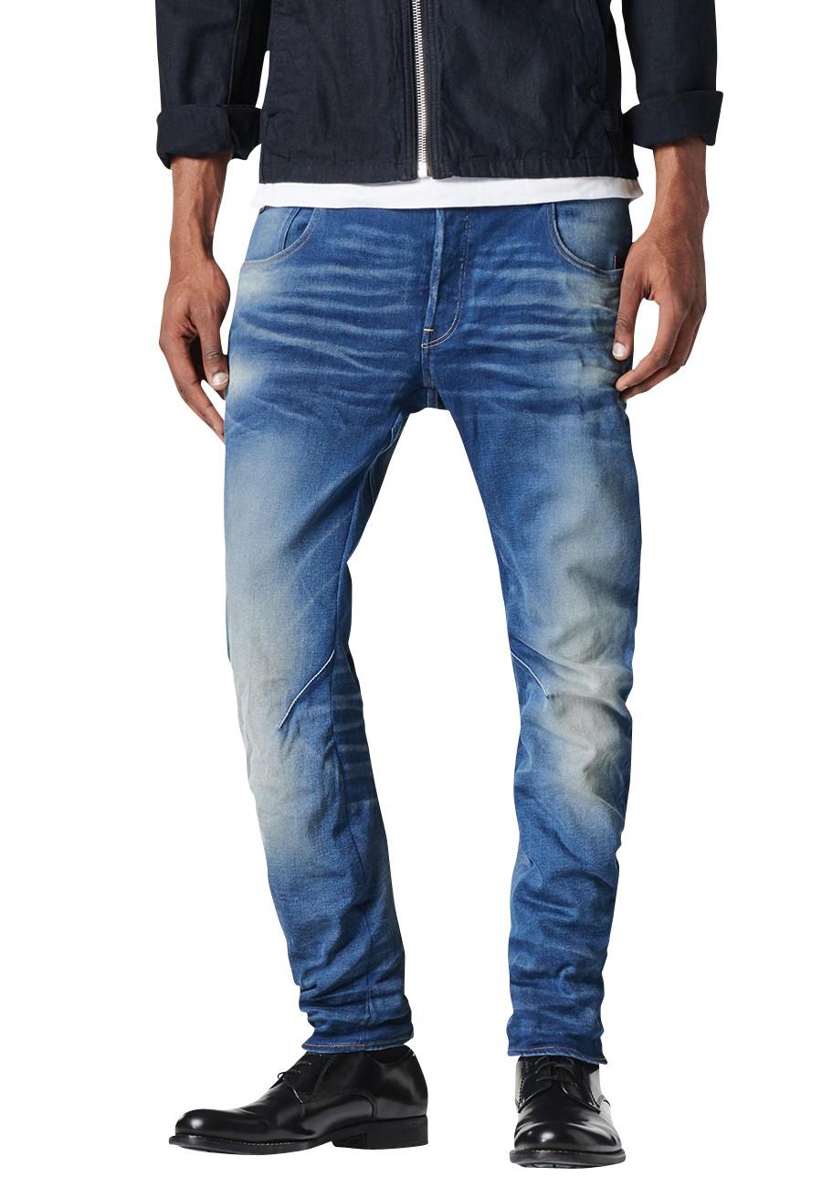 g star jeans arc 3d slim herren jeans medium aged kaufen. Black Bedroom Furniture Sets. Home Design Ideas
