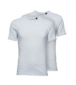 G-Star T-Shirt 2er Pack Herren Basic Rundhals