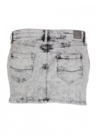Cross Damen Jeansrock Anna - Grey