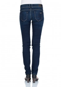 Bild 2 - Pepe Jeans Damen Jeans New Brooke - Slim Fit - Mid Blue