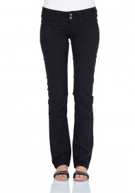 Pepe Jeans Damen Pant Venus - Regular Fit - Black