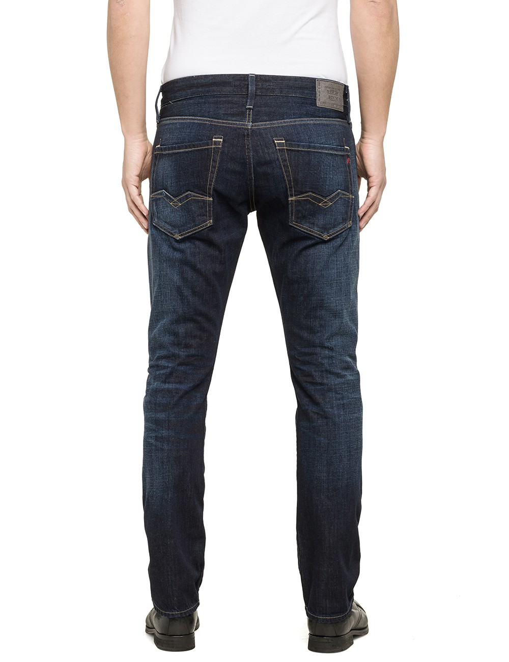 replay herren jeans waitom regular fit deep blue kaufen jeans direct de. Black Bedroom Furniture Sets. Home Design Ideas