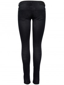 Bild 2 - Only Damen Jeans onlCORAL - Skinny Fit - Black