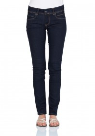 Pepe Jeans Damen Jeans New Brooke - Slim Fit - Rinse Plus
