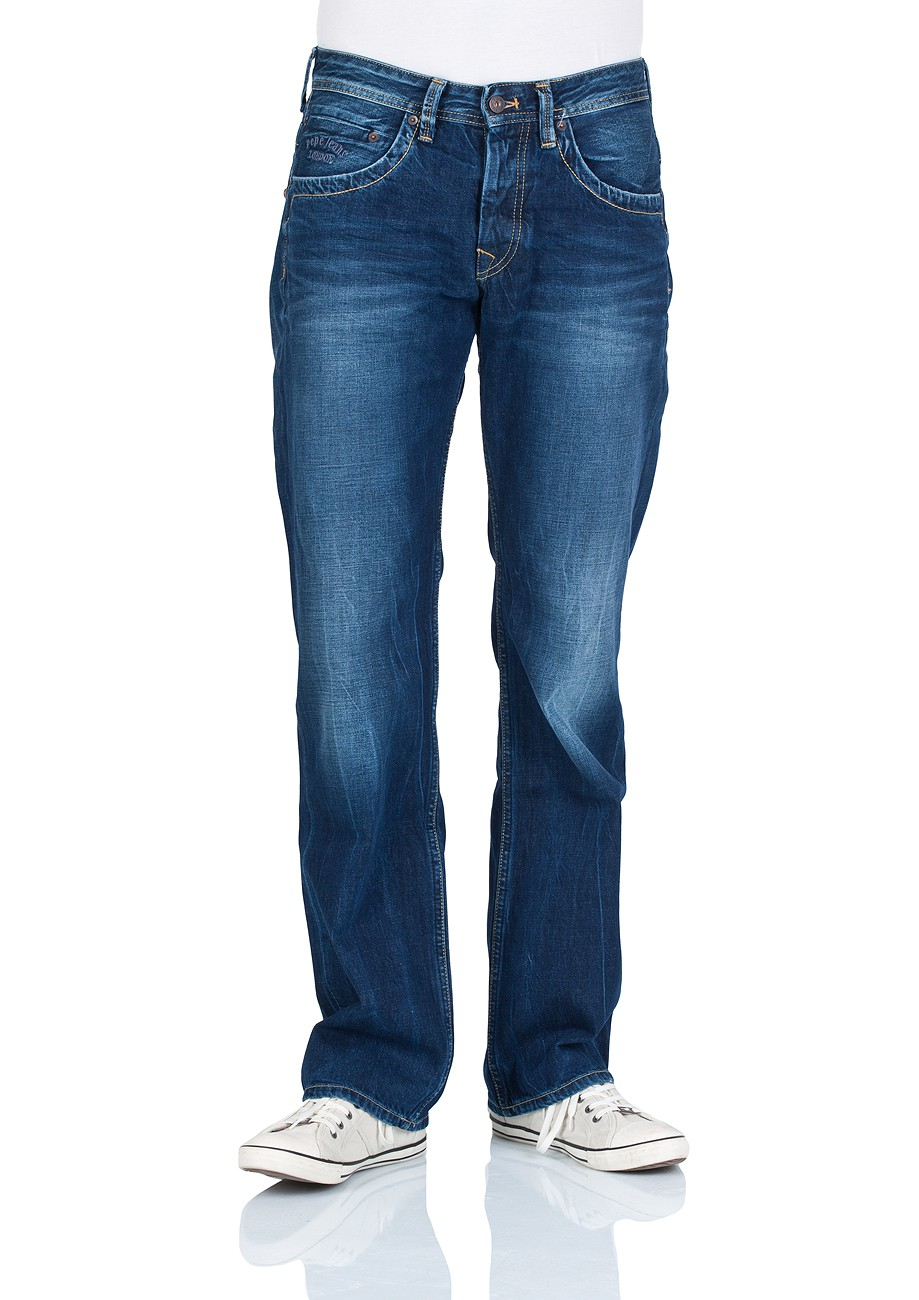 pepe jeans herren jeans jeanius comfort fit rope dye glory dk kaufen jeans direct de. Black Bedroom Furniture Sets. Home Design Ideas