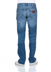Wrangler Herren Jeans Arizona Stretch - Straight Fit - Blue What Blue
