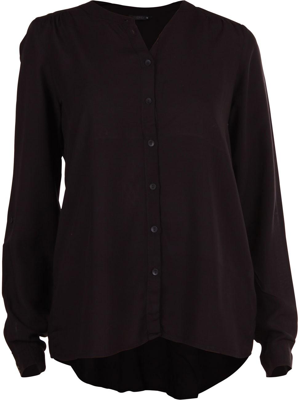 Only Damen Bluse onlNEW 34, black (15105814)