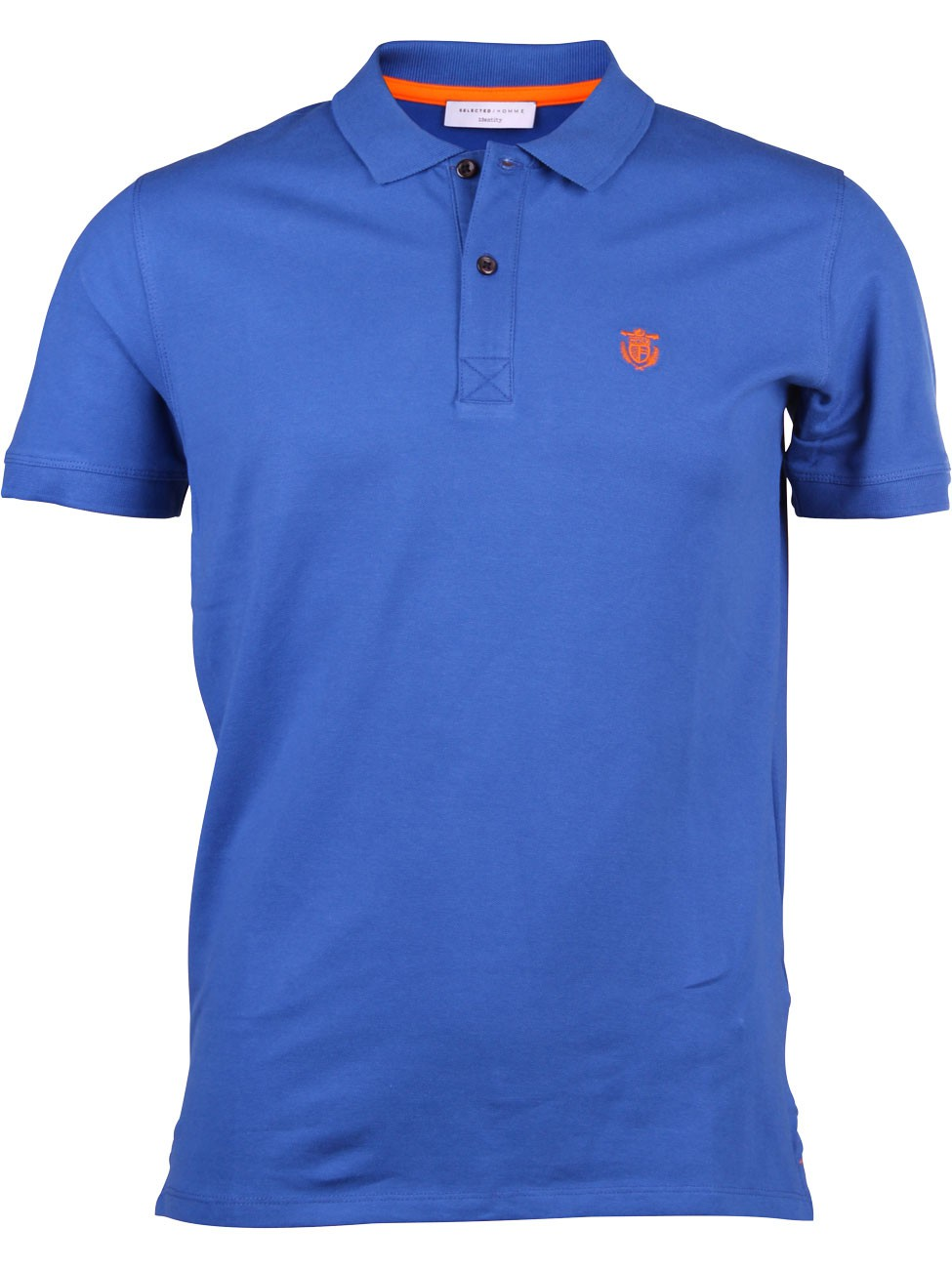 Selected herren polo shirt shdaro embroidery kaufen for Polo shirt and jeans