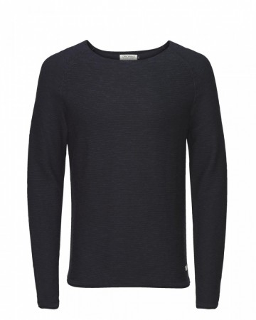 Jack & Jones Herren Pullover 12097024 jjorBAN KNIT CREW NECK
