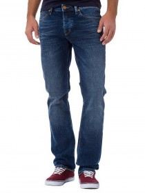 Cross Herren Jeans Dylan - Regular Fit - Deep Blue