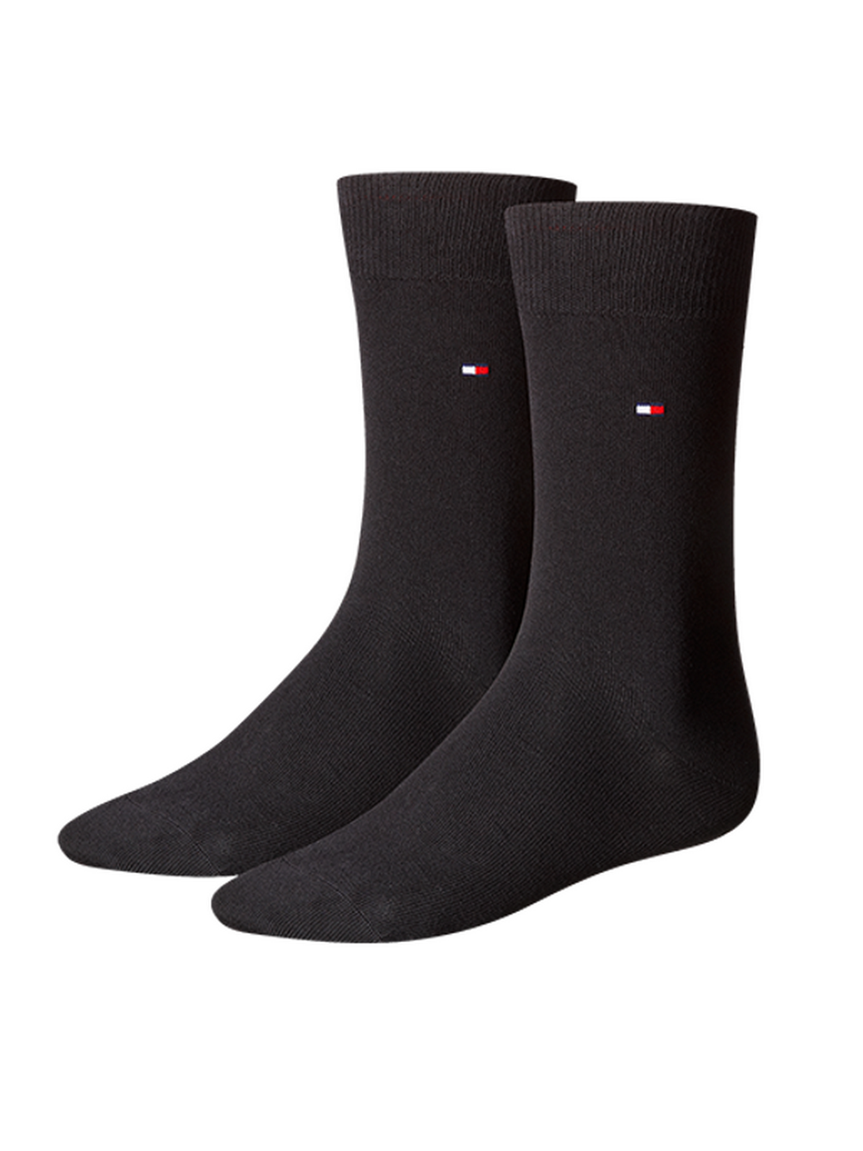 Tommy Hilfiger Herrensocken Classic Business Socken - 2er Pack 43-46, black (200)