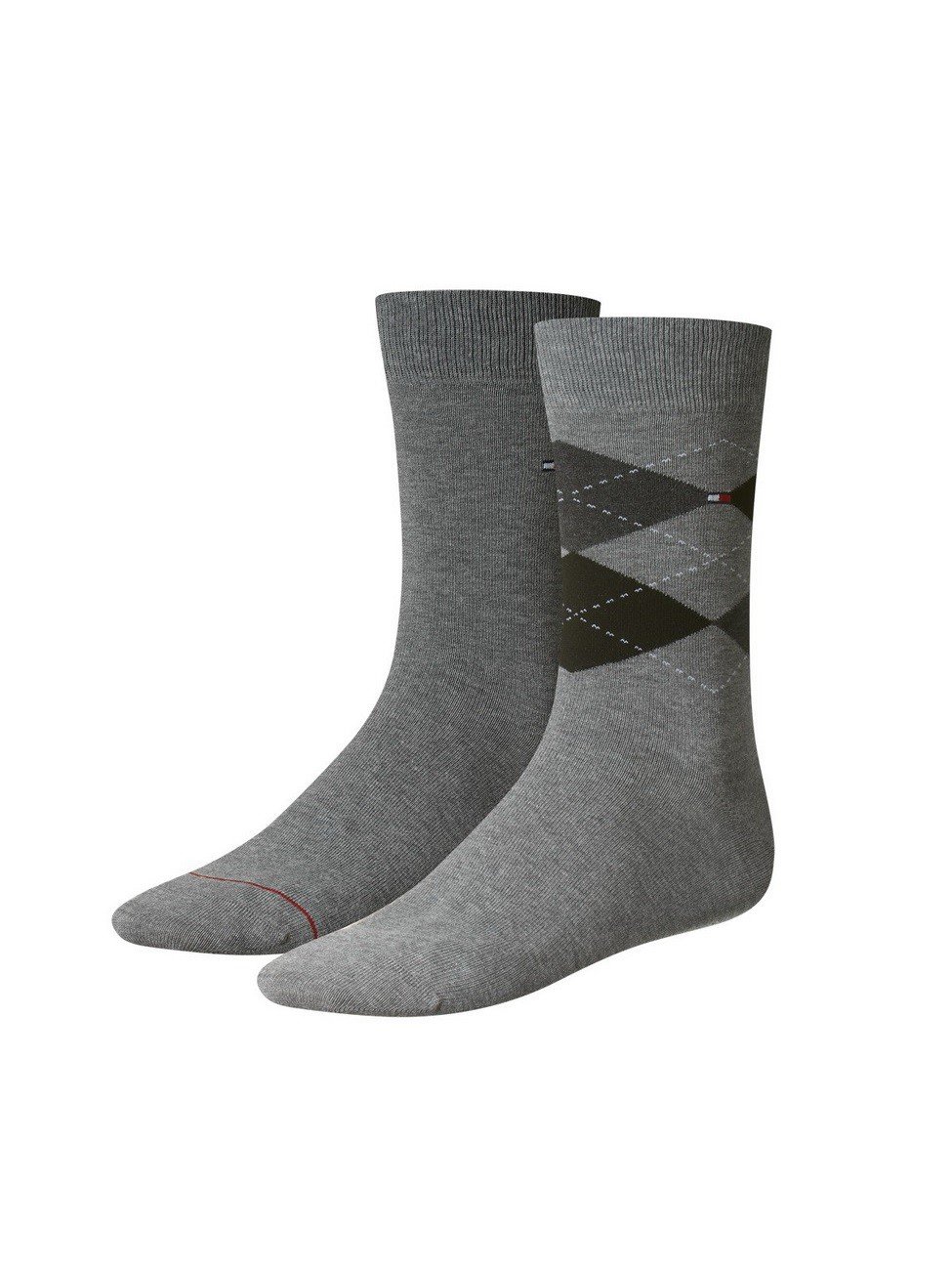 Tommy Hilfiger Herrensocken Check Socks - 2er Pack