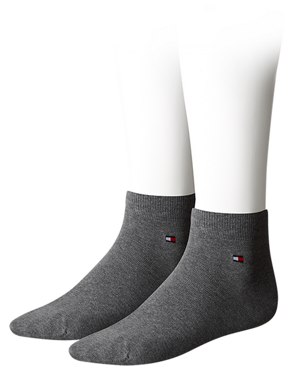 Tommy Hilfiger Herren Quarter Socken Flag - 2er Pack