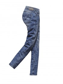Timezone Damen Jeans ALeenaTZ - Tight Fit - Loom Wash