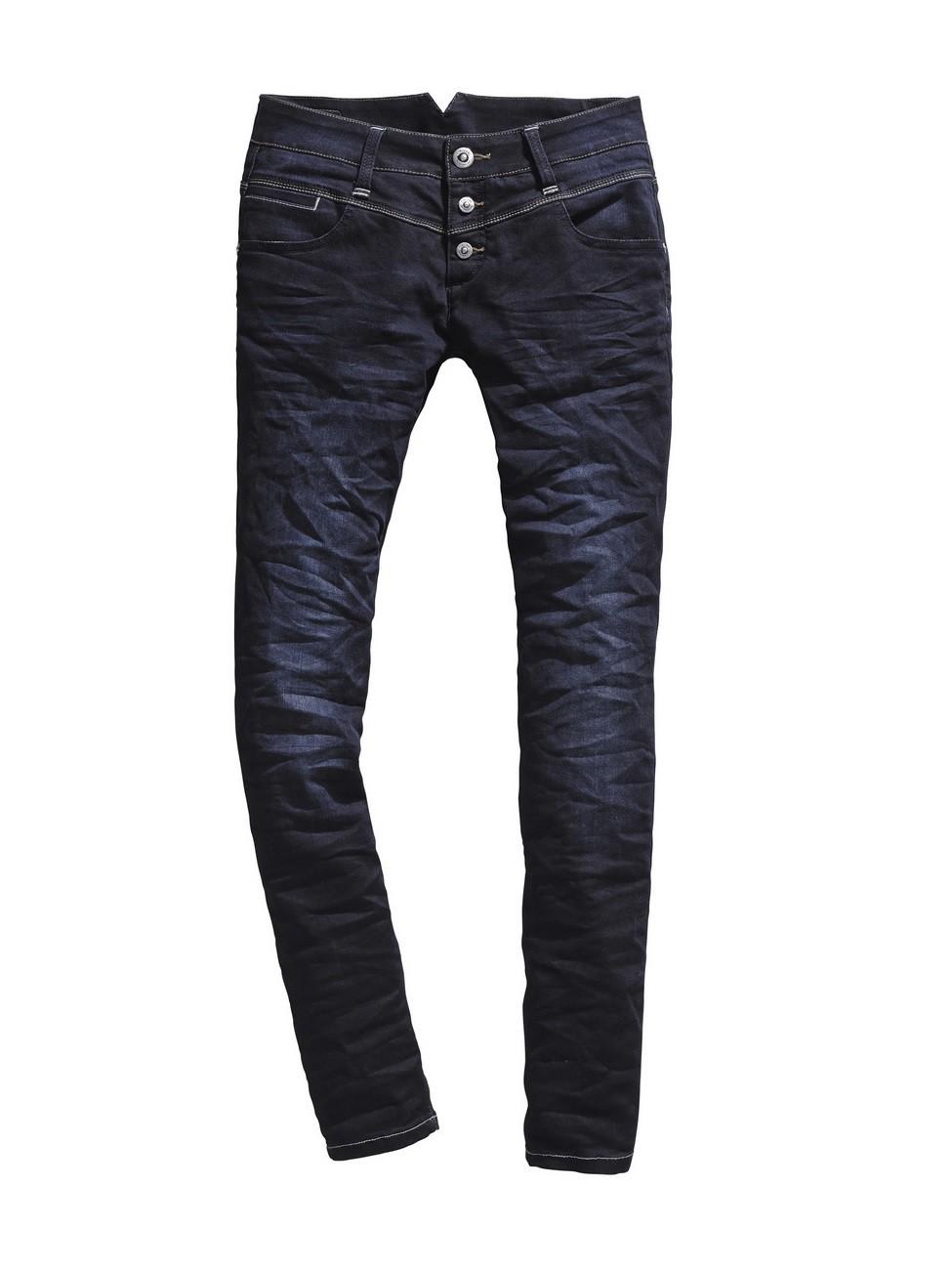 Timezone Damen Jeans New KairinaTZ - Slim Fit - Noble Blue Wash
