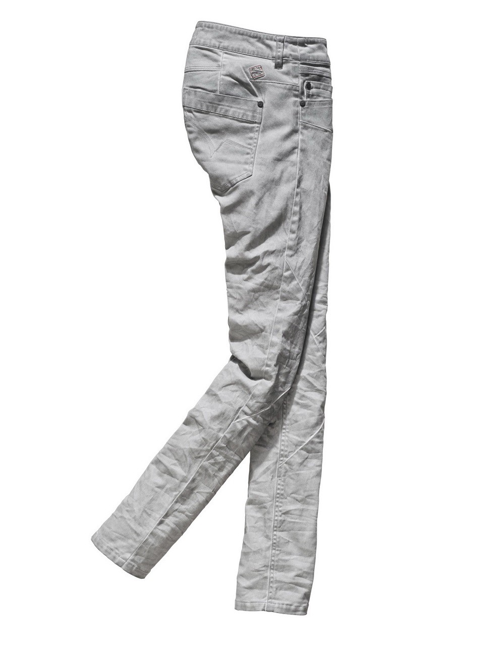 Timezone Damen Hose NeelaTZ - Slim Fit - Chateau Grey