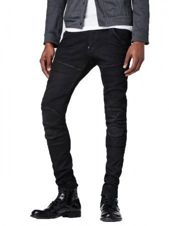 G-Star Herren Jeans Slander Black - Superstretch Slim Fit - Dark Aged
