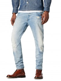 Bild 1 - G-Star Herren Jeans Arc 3D - Superstretch Slim Fit - It Aged Destroyed