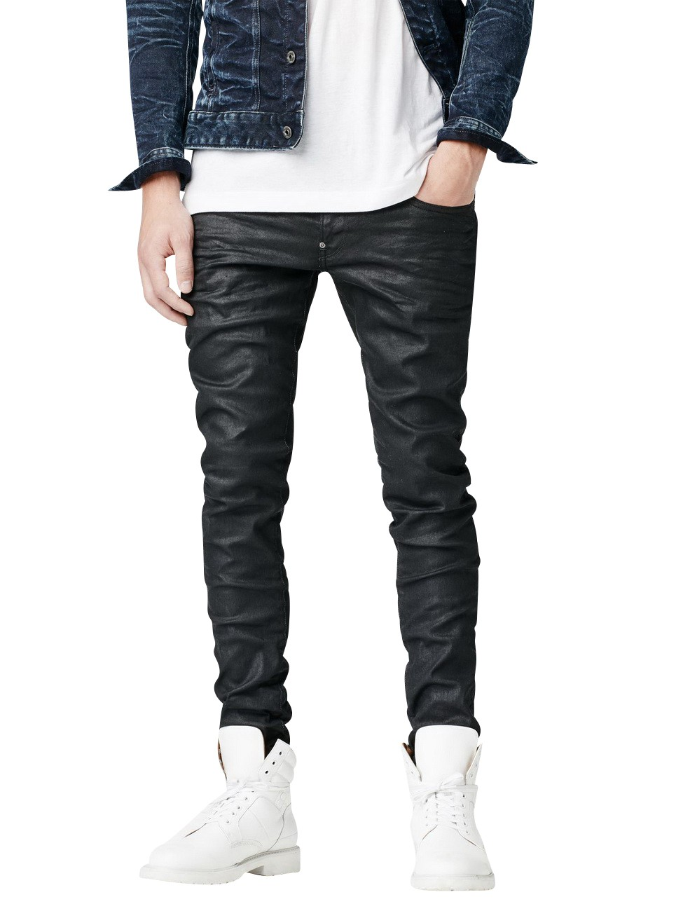 G-STAR-JEANS-UOMO-revend-SUPER-SLIM-FIT-3d-DARK-aged