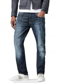 G-Star Herren Jeans Defend - Straight Fit - Dark Aged