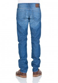 Bild 2 - Mavi Herren Jeans Yves - Slim Fit - Blau - Cool Denim