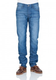 Bild 1 - Mavi Herren Jeans Yves - Slim Fit - Blau - Cool Denim