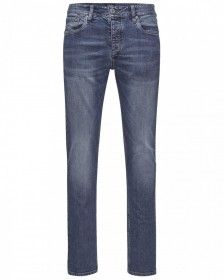 Jack & Jones Herren Jeans JJITIM JJORIGINAL AKM 765  - Slim Fit - Blau