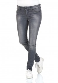 LTB Damen Jeggings Dora - Slim Fit  - Grau - Grey Mist Wash