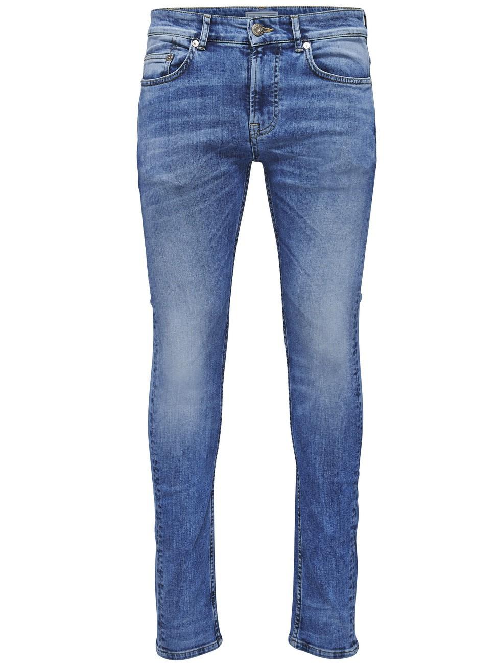 Only & Sons Herren Jeans onsWEFT - Regular Fit - Blau - Medium Blue Denim