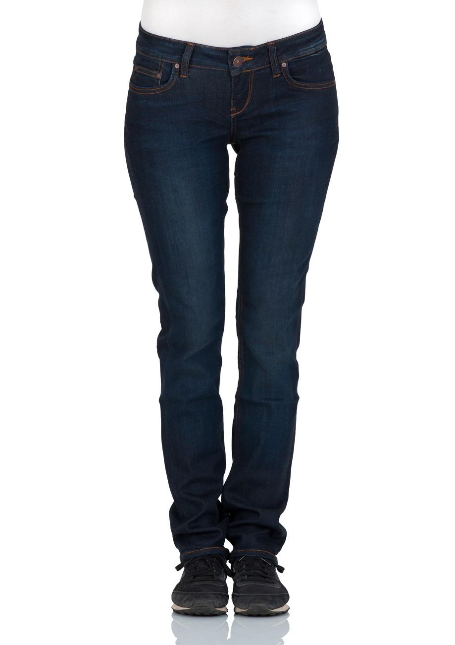 ltb damen jeans aspen regular slim straight blau neola wash ebay. Black Bedroom Furniture Sets. Home Design Ideas