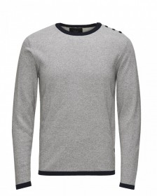Jack & Jones Herren Sweater jjcoPLAIN