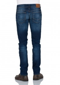 Bild 2 - Cross Herren Jeans Johnny Slim Fit - Blau - Ocean Blue Used
