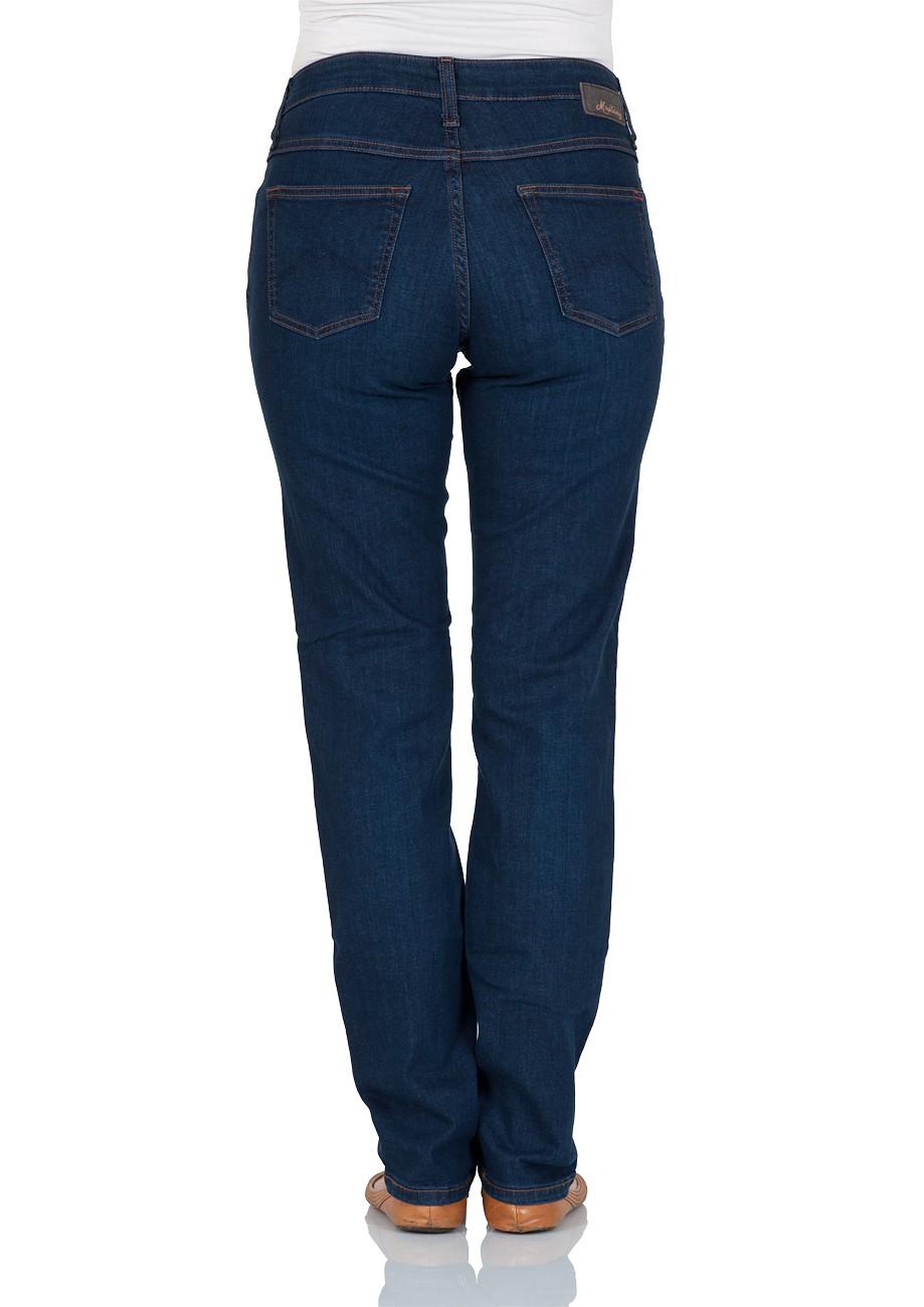 mustang damen jeans sissy slim fit straight leg blau dark vintage kaufen jeans direct de. Black Bedroom Furniture Sets. Home Design Ideas